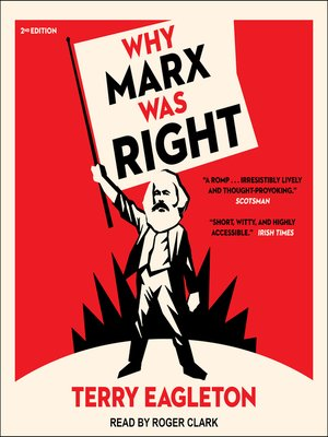 cover image of Why Marx Was Right