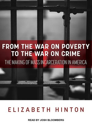 cover image of From the War on Poverty to the War on Crime