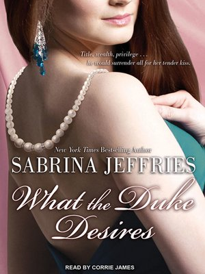 cover image of What the Duke Desires