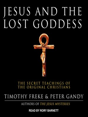 cover image of Jesus and the Lost Goddess