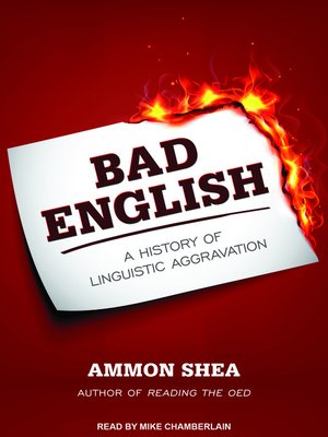 cover image of Bad English