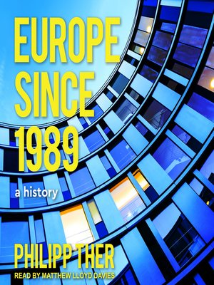 cover image of Europe Since 1989