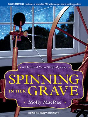 cover image of Spinning in Her Grave