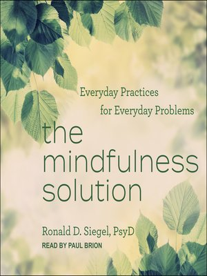 cover image of The Mindfulness Solution