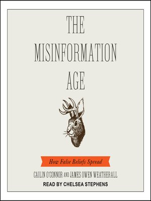 cover image of The Misinformation Age