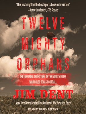 cover image of Twelve Mighty Orphans