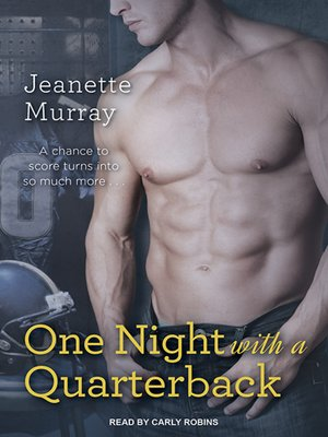 cover image of One Night with a Quarterback
