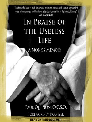 cover image of In Praise of the Useless Life