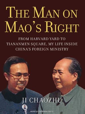 cover image of The Man on Mao's Right