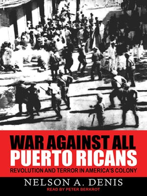 cover image of War Against All Puerto Ricans