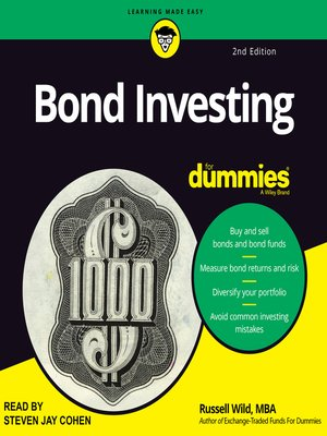 cover image of Bond Investing for Dummies