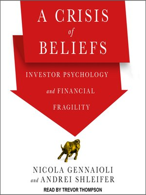 cover image of A Crisis of Beliefs