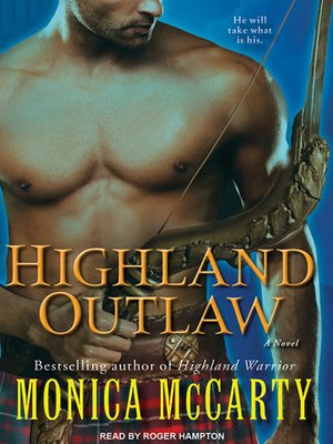 cover image of Highland Outlaw--A Novel