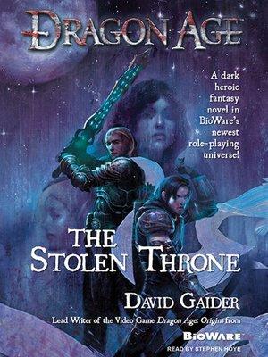 dragon age the stolen throne pdf
