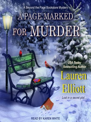 cover image of A Page Marked For Murder