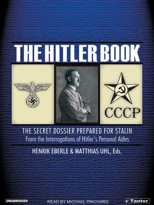 cover image of The Hitler Book