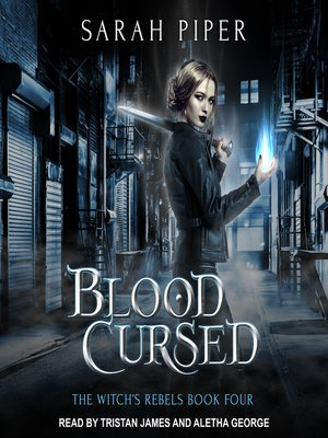 cover image of Blood Cursed--A Reverse Harem Paranormal Romance