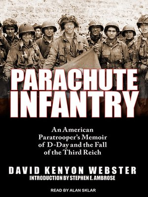 cover image of Parachute Infantry