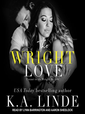 cover image of The Wright Love