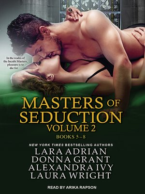 cover image of Masters of Seduction--Books 5-8 (Volume 2)