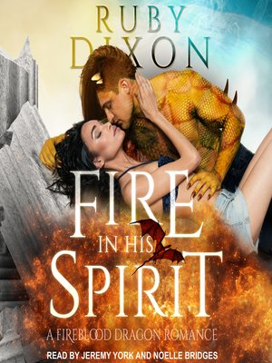 cover image of Fire in His Spirit