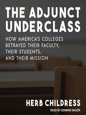 cover image of The Adjunct Underclass