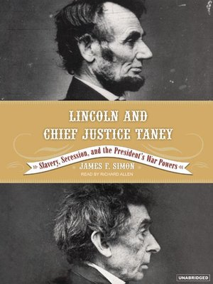 cover image of Lincoln and Chief Justice Taney