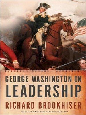 cover image of George Washington on Leadership