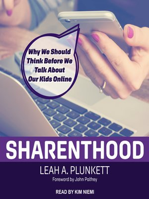 cover image of Sharenthood