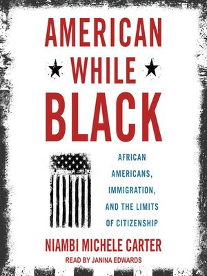 cover image of American While Black