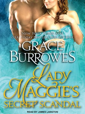 cover image of Lady Maggie's Secret Scandal
