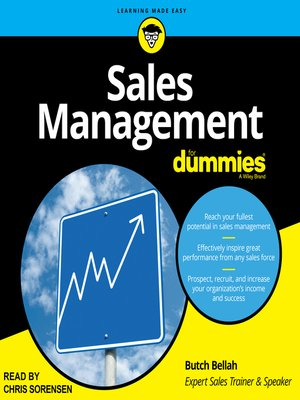 cover image of Sales Management for Dummies