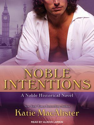 cover image of Noble Intentions