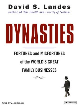 cover image of Dynasties