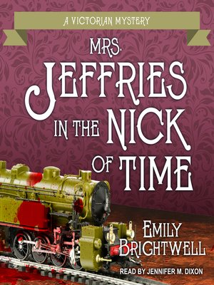 cover image of Mrs. Jeffries in the Nick of Time