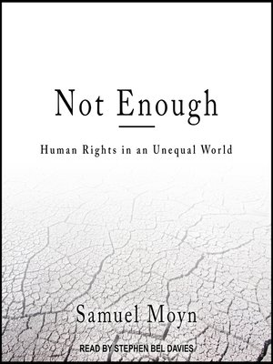 cover image of Not Enough