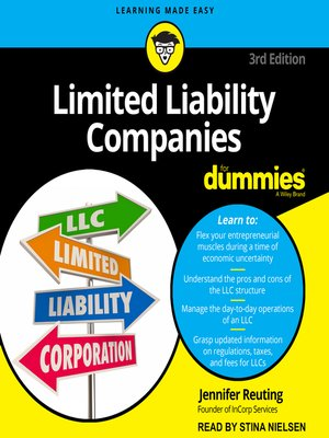 cover image of Limited Liability Companies fr Dummies