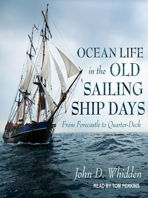 cover image of Ocean Life in the Old Sailing Ship Days
