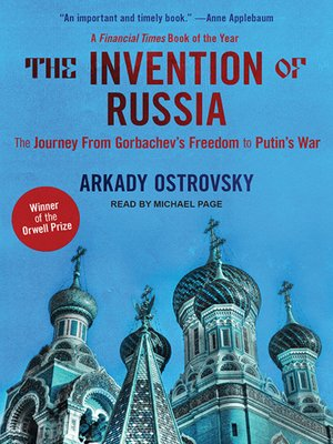 cover image of The Invention of Russia
