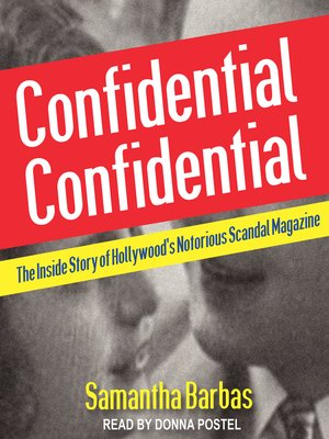 cover image of Confidential Confidential