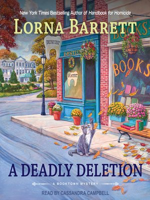 cover image of A Deadly Deletion