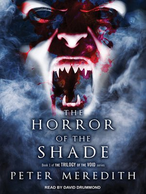 cover image of The Horror of the Shade