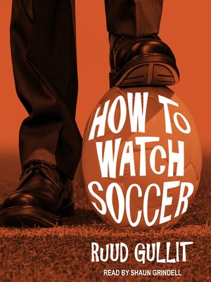 cover image of How to Watch Soccer
