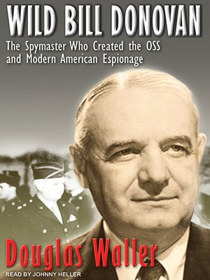cover image of Wild Bill Donovan