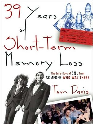 cover image of 39 Years of Short-Term Memory Loss