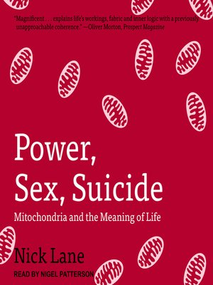 cover image of Power, Sex, Suicide