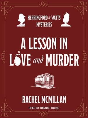 cover image of A Lesson in Love and Murder