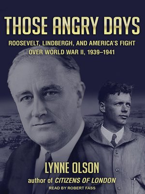cover image of Those Angry Days