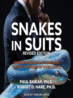 cover image of Snakes in Suits, Revised Edition