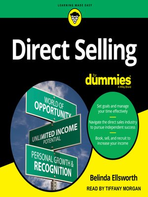 cover image of Direct Selling for Dummies